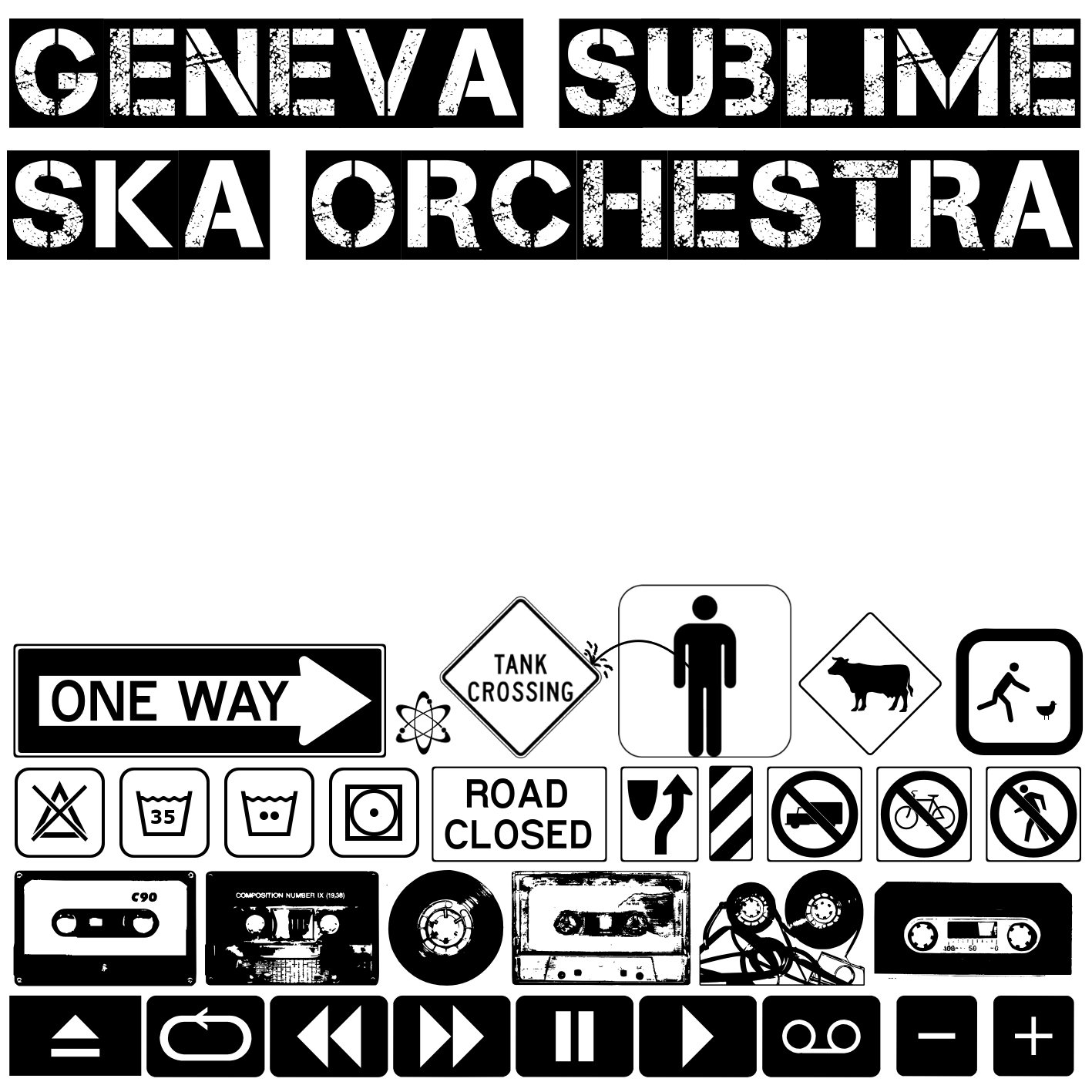 Geneva Sublime Ska Orchestra Album Cover