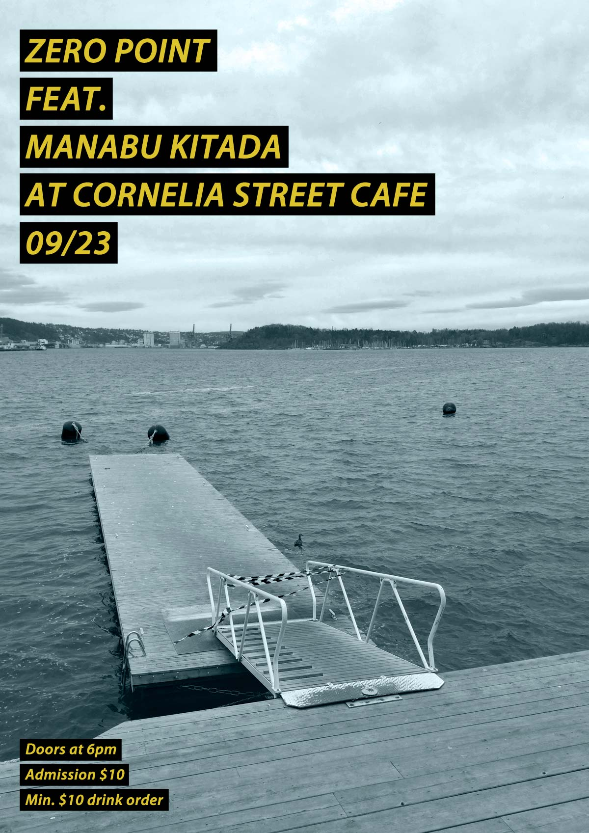 Zero Point feat. Manabu Kitada Flyer